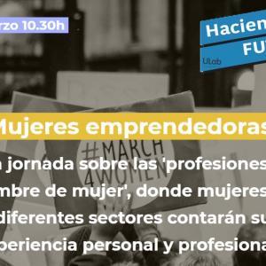 Mujeres emprendedoras. 'Profesiones sin nombre de mujer'