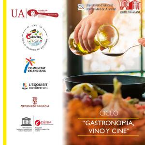 Ciclo Gastronomía, vino y cine