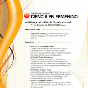 Ciencia en Femenino