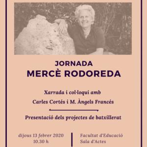 Jornada Mercé Rodoreda