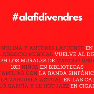#Alafidivendres