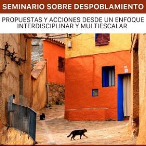 Seminario sobre despoblamiento