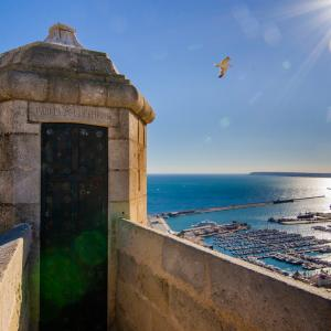 Castell de Santa Bàrbara. Alacant