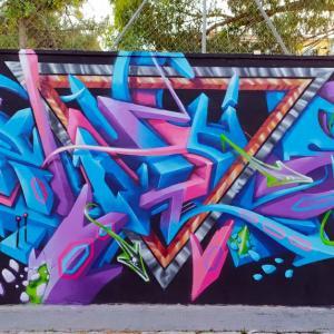 Ruta de Arte Urbano. Barrio de Campoamor