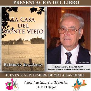 Novela La Casa de Monte Viejo de Raimundo Escribano