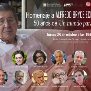 Homenaje a Alfredo Bryce Echenique