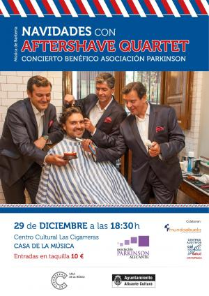 Asociación Parkinson Alicante. Concierto benéfico