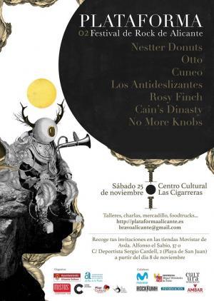 II Festival de rock Ciudad de Alicante - Plataforma