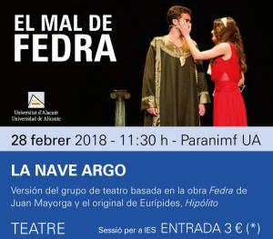 Teatro El mal de Fedra