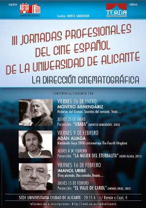III Jornadas profesionales cine español