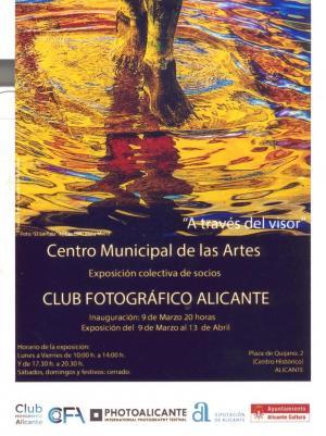 Cartel de la colectiva de fotografía