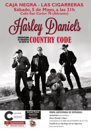 concierto Harley Daniels