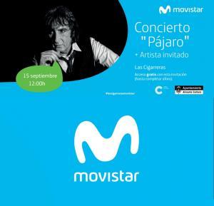 """Sesión Movistar+. Concierto de """"Pájaro"""""""
