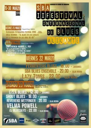 II Festival Blues Alicante