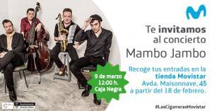 Sesión Movistar+. Concierto de Mambo Jambo en la Caja Negra de Las Cigarreras.