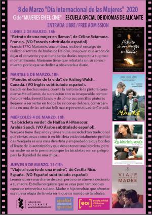 Ciclo mujeres en el cine