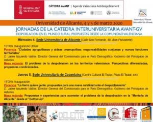 Jornada Cátedra Interuniversitaria Avant-gv
