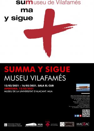 """Exposición """"SUMMA y SIGUE"""""""