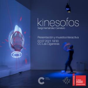 Kinesofos. Presentación del proyecto de Sergi Hernández